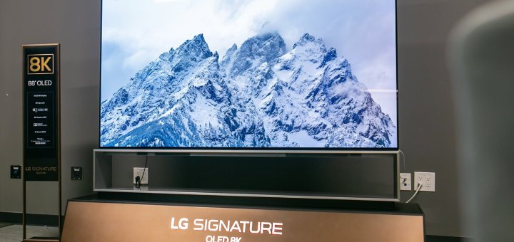 LG, 34 Bin Dolarlık Dünyanın En Büyük 8K OLED Televizyonunu Tanıttı!