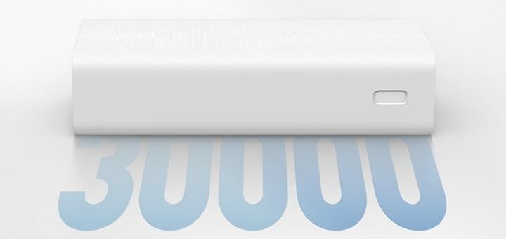 Xiaomi Mi Power Bank 3 Modeli, 30.000mAh Kapasitesi İle Tanıtıldı