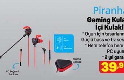A101 Piranha Gaming Kulak İçi Kulaklık Yorumları ve Özellikleri
