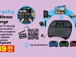A101 Piranha Kablosuz Klavye Yorumları ve Özellikleri