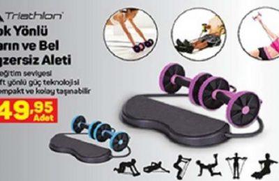 A101 Triathlon Çok Yönlü Karın ve Bel Egzersiz Aleti Yorumları ve Özellikleri